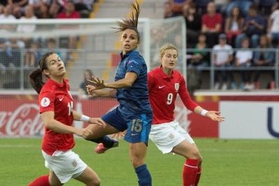 Jessica Houara a disputé l'intégralité du match contre l'Angleterre.