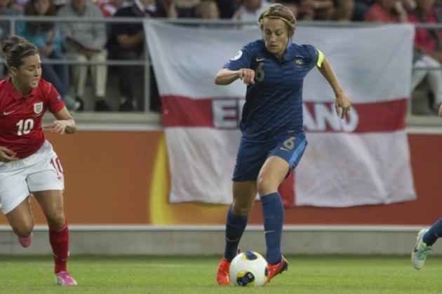 Sandrine Soubeyrand a joué son dernier match en Bleue (Photo : Eric Baledent)
