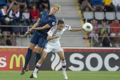 A 31 ans, Corine Franco serait la cadre la plus âgée du groupe en cas de qualifications au Mondial 2015