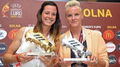 Lotta Schelin (5 buts) est le soulier d'or de cet Euro.