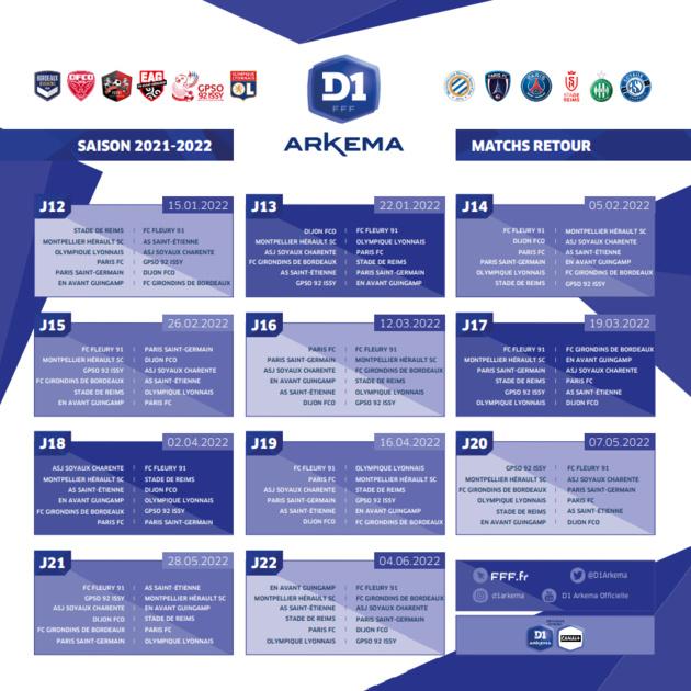 #D1Arkema - Le calendrier des matchs connu