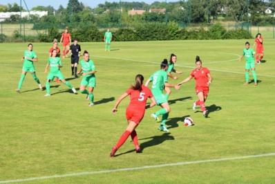 Les Stéphanoises ont joué deux matchs à Châteauroux (photo CTR)