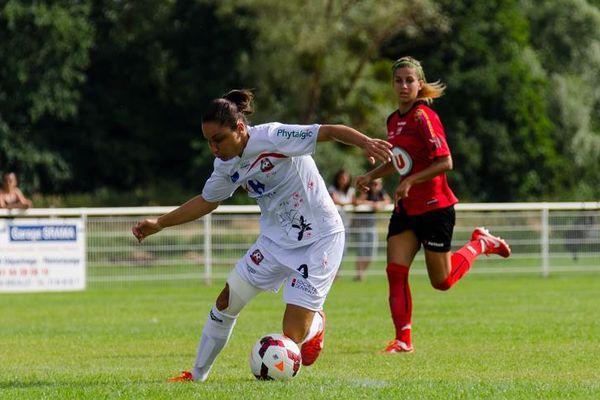 Sandrine Brétigny et Juvisy visent le titre cette saison (Photo : FCFJE)