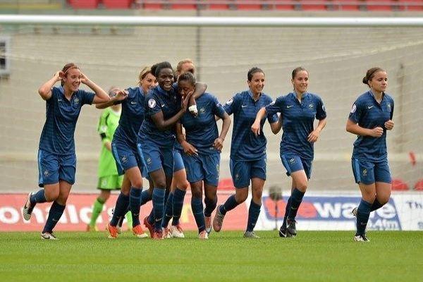 Après leur victoire contre l'Allemagne, les Bleuettes ne craignent personne (Photo : uefa.com)