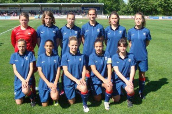La sélection U17 lors des matchs en Italie (photo FFF)