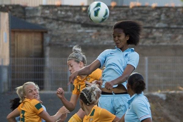 Wendie Renard est désormais la capitaine des Bleues (photo Eric Baledent)