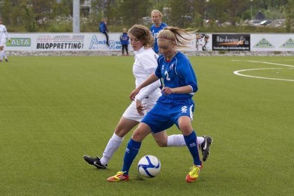 Marie-Charlotte Léger va retrouver l'Islande, déjà affrontée avec les U16 en juillet 2012 (4-0)