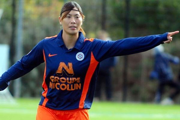 Déjà trois passes décisives et deux buts pour la Japonaise Rumi Utsugi (photo MHSC)