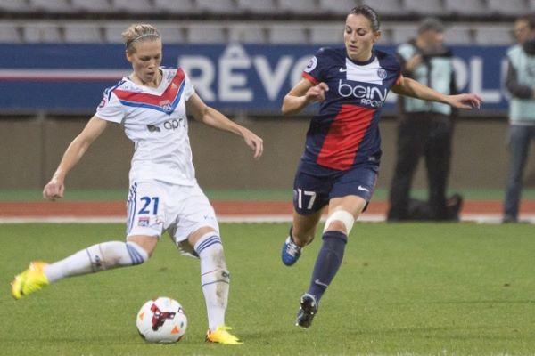 """Aurélie Kaci a joué à Lyon puis à Paris (depuis 2012), elle s'est donc très vite intégrée dans le groupe """"France"""" (Photo : Eric Baledent)"""
