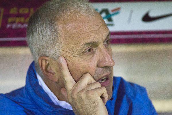 Philippe Bergerôo satisfait de la prestation (photo Eric Baledent)