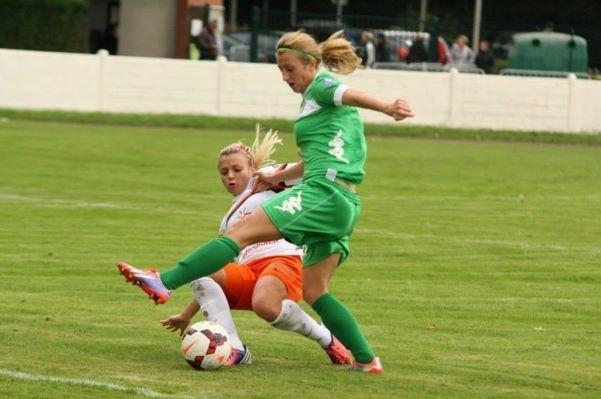 Une fois le maintien assuré, Marie Schepers aimerait pouvoir aller embêter les équipes de milieu de tableau cette saison (Photo : Club).