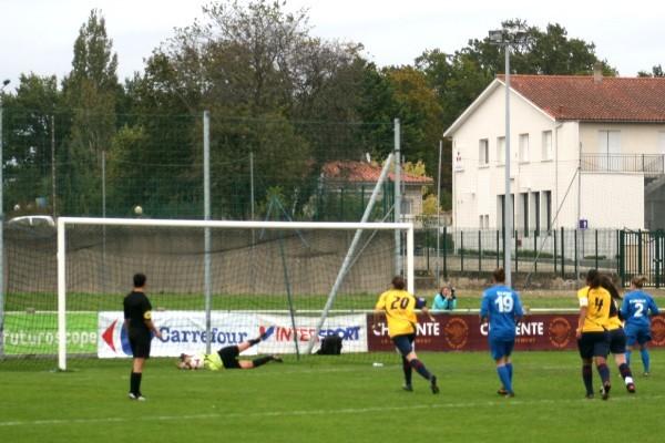 Anais Dumont a manqué un penalty