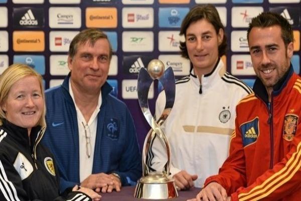 Les Tricolores débuteront par l'Espagne, puis joueront l'Allemagne et l'Ecosse (photo UEFA)