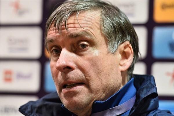 La sélection de Guy Ferrier n'a pas su se hisser au niveau (photo UEFA)