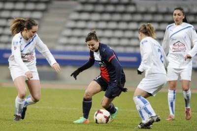 Laure Boulleau a marqué le dernier but du PSG en 2013