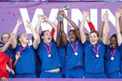 Les Bleuettes ont remporté leur troisième titre européen en août dernier (photo FAW)