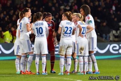 Les Lyonnaises restaient sur quatre-vingt sept matchs sans défaite en D1
