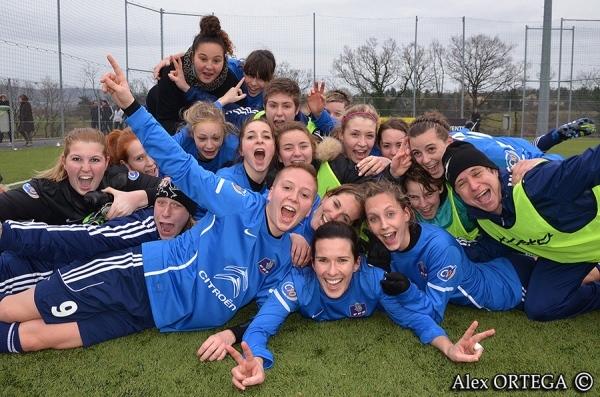 Les filles du Domtac FC seront les petits poucets des seizièmes ! (Crédit : Alex Ortega)