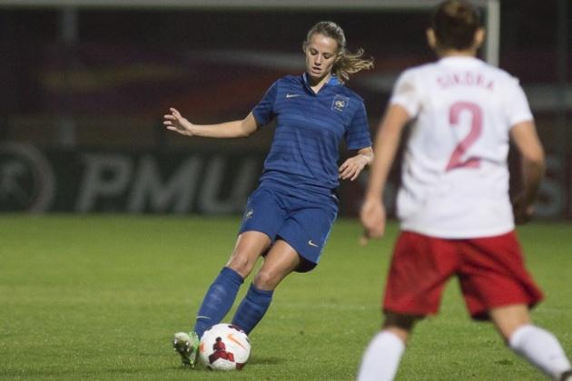 Sandie Toletti totalise déjà deux sélections avec les Bleues (Photo : Eric Baledent)