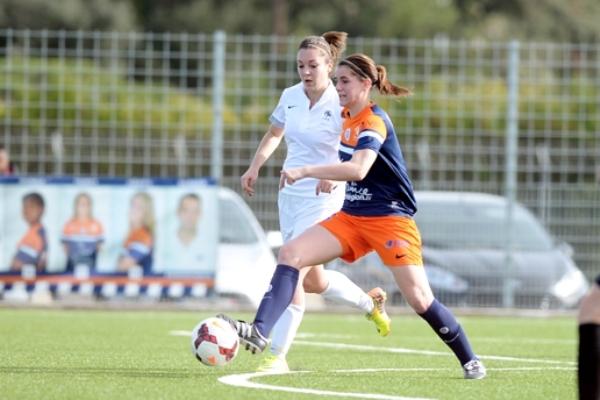 Charlotte Bilbault et Montpellier ont pris le dessus (photo MHSC)