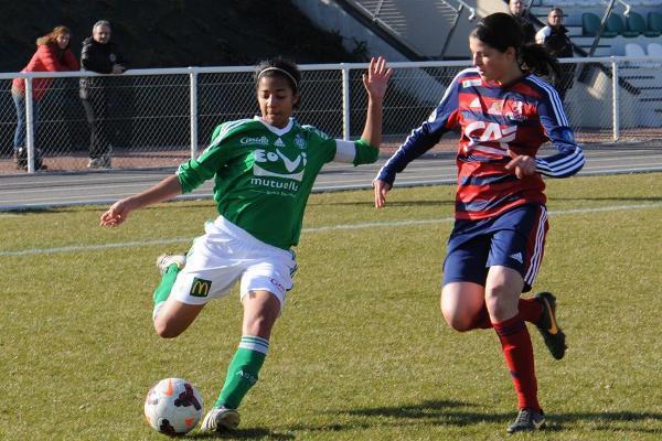 Aude Moreau et les Vertes n'ont pas réussi à dépasser Arras au classement