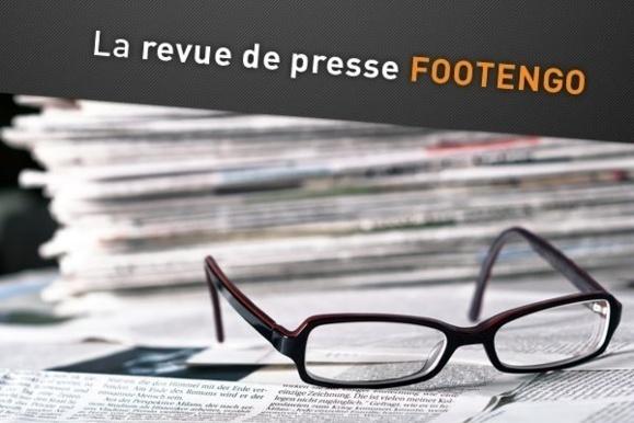 """La revue de presse FOOTENGO - Un sifflet, des maillots, un but… A chacun ses raisons d'être """"happy"""", malgré la pluie !"""
