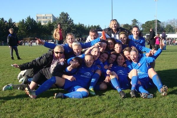 Les Alsaciennes sont en quart de la coupe de France pour la première fois de leur histoire. Photo Foot49.fr