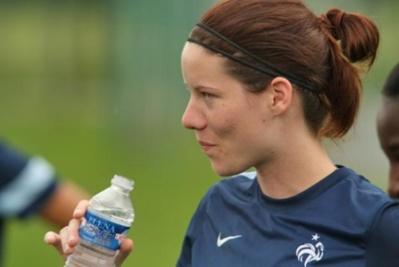 L'équipe de France A, l'objectif de la joueuse de l'Essonne (Photo : FFF).