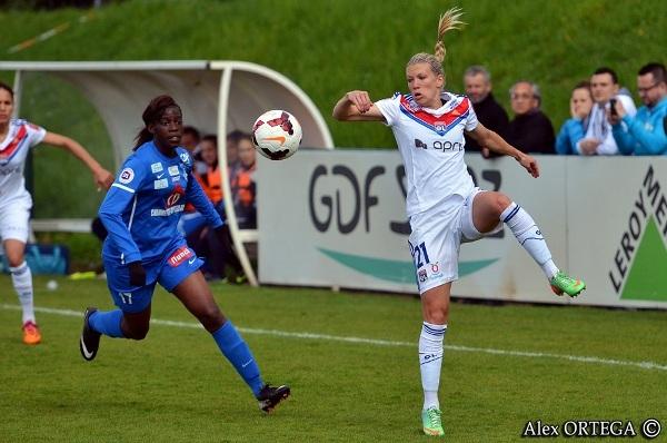 Dickenmann et l'OL après un succès un à zéro face à Yzeure, a aussi peiné contre Rodez