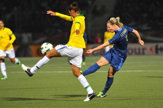 Les Bleues ont déjà joué deux fois les Brésiliennes en mars 2013 (photo Eric Baledent)