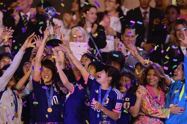Le Japon savoure son titre (photo fifa.com)
