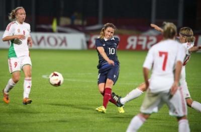 """Camille Abily va être """"à fond"""" derrière Clermont la saison prochaine (Photo : FFF)"""