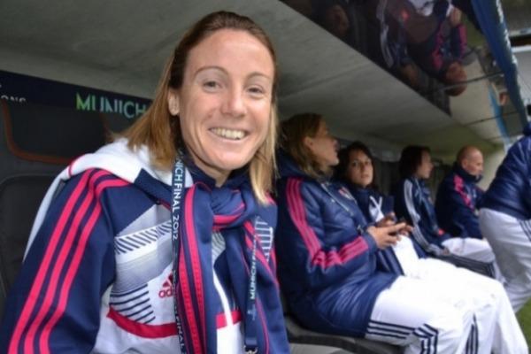 Sonia Bompastor est heureuse de l'arrivée de Gérard Prêcheur (Photo : olweb)
