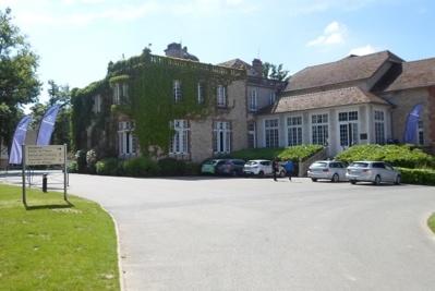 Les trois équipes ont pu découvrir le temple du football français, Clairefontaine
