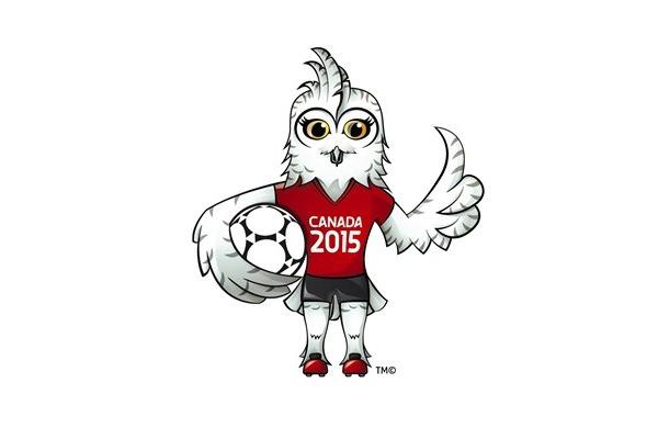 Coupe du Monde 2015 - Une chouette harfang comme mascotte !