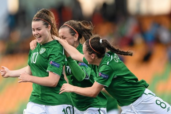 L'Irlande est la seule équipe à avoir aligné deux succès (photo UEFA)