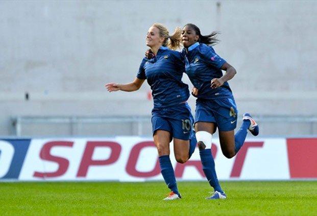 Sandie Toletti et Aïssatou Tounkara, championnes d'Europe 2013, seront de l'aventure canadienne (photo FFF)