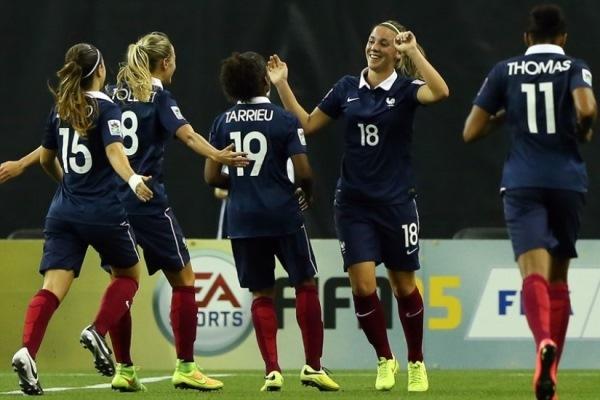 Les Françaises ont confirmé leur statut de favorites du groupe D (photo FIFA.com)
