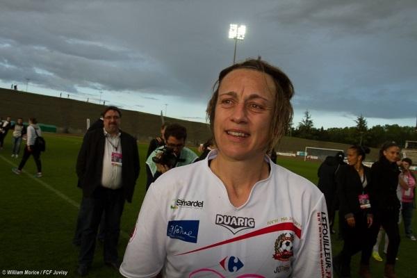 Sandrine Soubeyrand a raccroché les crampons mais retrouve dès la rentrée la sélection U17 (photo William Morice)