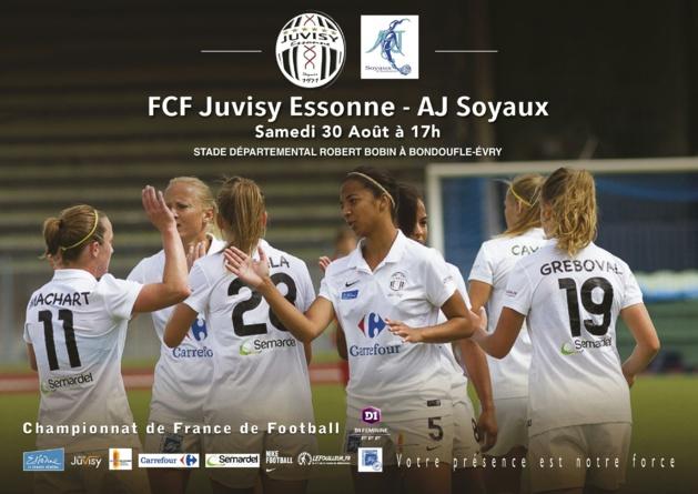 """D1 (1/12) - Le FCF JUVISY prêt à """"titiller"""" le PSG et l'OL"""