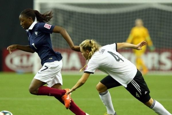 Kadidiatou Diani et les Bleuettes veulent le bronze (photo FIFA)