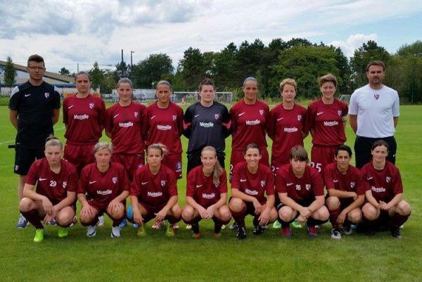 Nouvelle division, nouvelles couleurs pour Algrange avec le club grenat du FC Metz