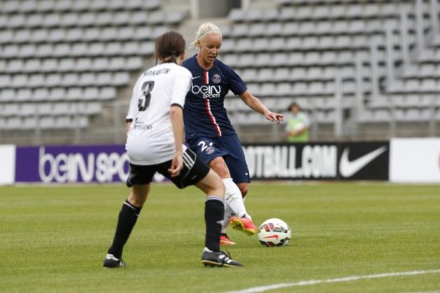 Caroline Seger fait des débuts remarqués (photo PSG.fr)