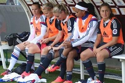 Méline Gérard n'a pas encore joué en match officiel avec l'OL (photo vrouwenteam)
