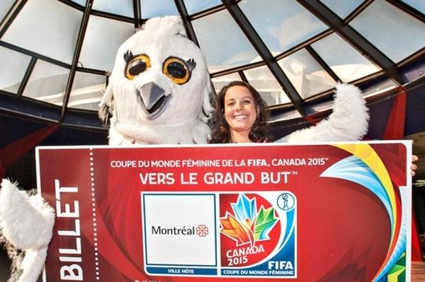 International - Les billets pour Canada 2015 sont en vente !