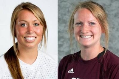 Lindsay Elson et Megan Lindsay, deux recrues US pour le FC Metz (photos DR)