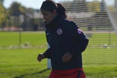 Shirley Cruz a rejoint sa sélection nationale du Costa Rica pour se qualifier pour le prochain Mondial