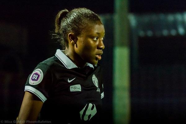 Appelée chez les Bleues, Diani a marqué avec Juvisy