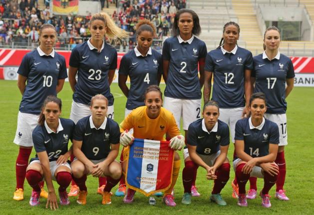 Le onze français (photo FFF)