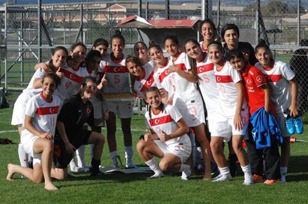 Les Turques  sont deuxièmes derrière le Danemark, devant la Macédoine et le Kazakhstan (photo TFF)
